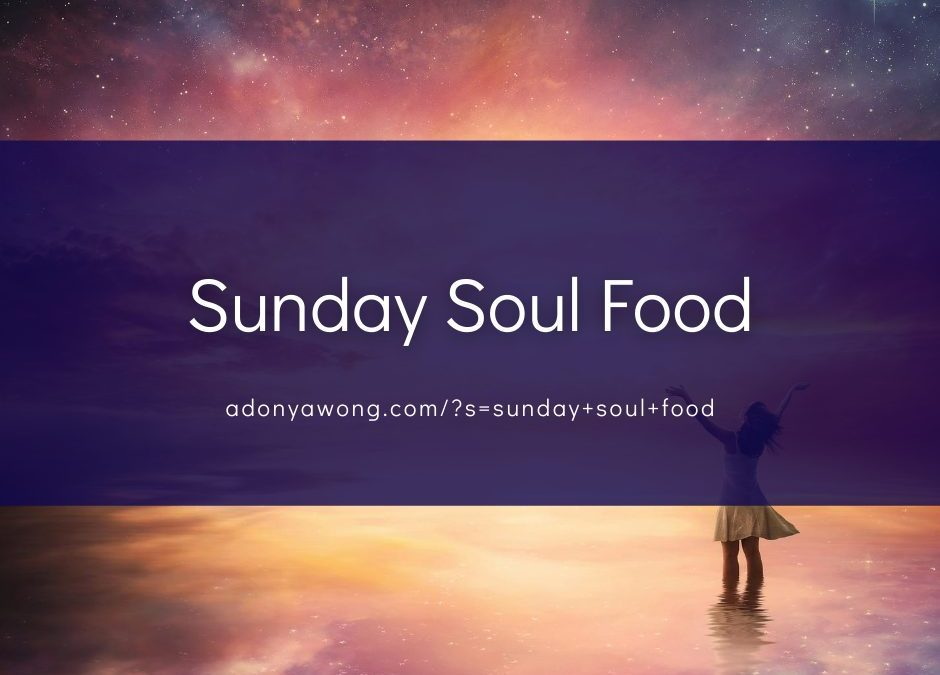 """[Sunday Soul Food] """"The Concluding Months"""""""