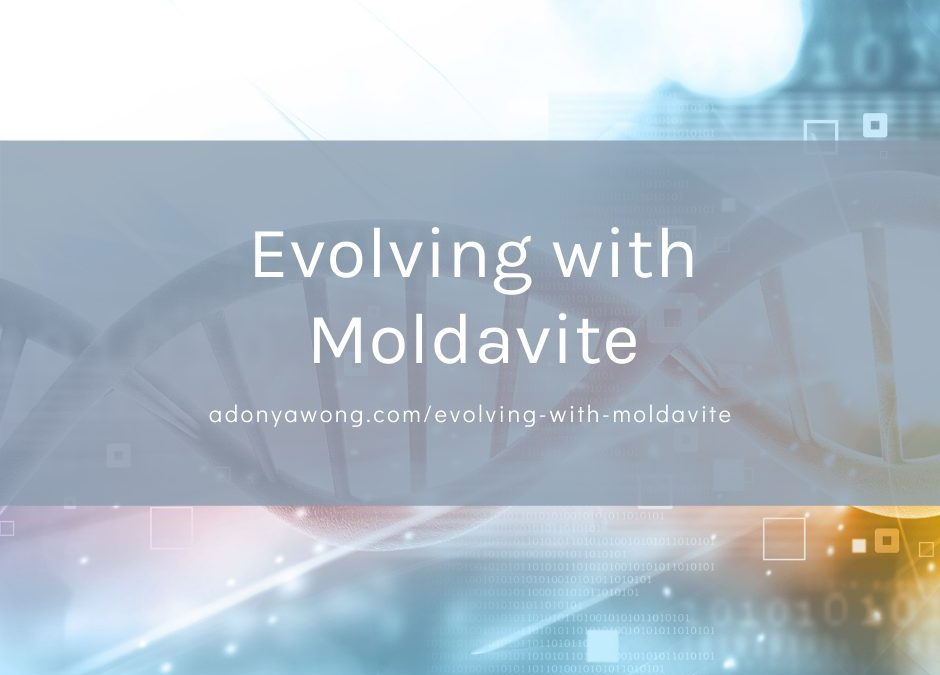Evolving with Moldavite