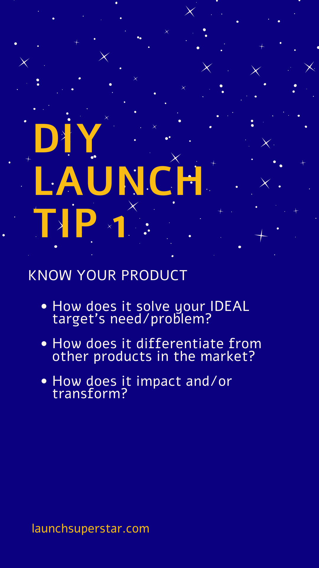 DIY Launch tip 1