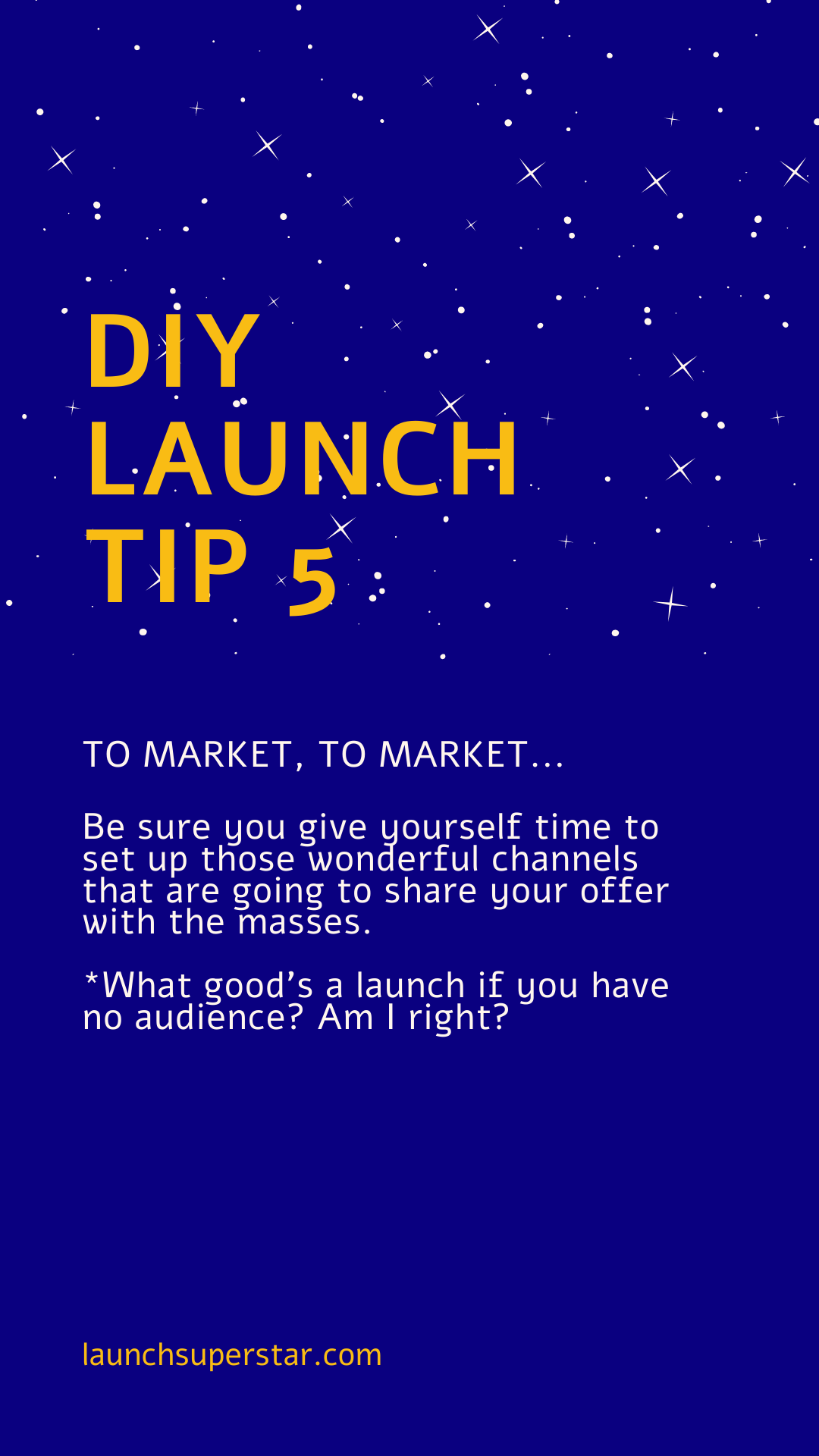 DIY Launch tip 5