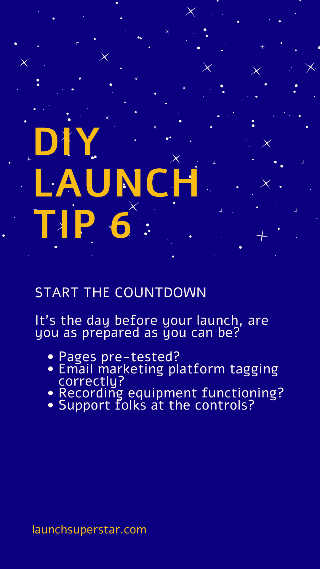 DIY Launch tip 6