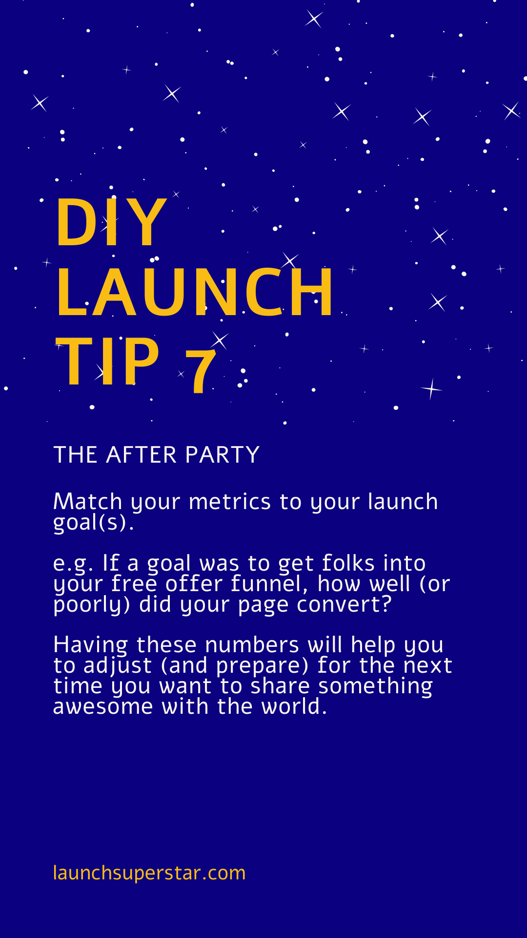 DIY Launch tip 7