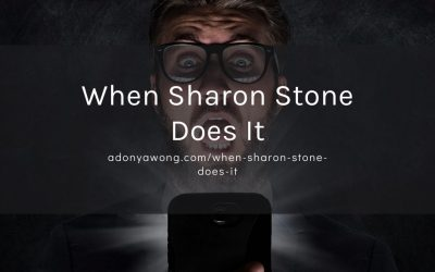 When Sharon Stone does it